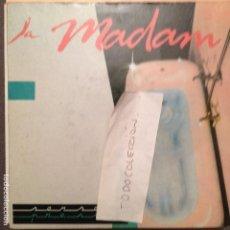 Discos de vinilo: LA MADAM : DISCIPLINA / NATALIA PDI PROMO ROCK CATALA. Lote 61847280