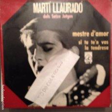 Discos de vinilo: MARTÍ LLAURADÓ -NADAL/ MESTRE D´AMOR/LA TENDRESSA/SI TU TE'N VAS LEO FERRÉ, BREL, SETZE JUTGES . Lote 61848268