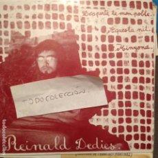Discos de vinilo: REINALD DEDIES , DESPERTA-TE MON POBLE + 2 ARR: LLUIS LLACH / LAURA ALMERICH GRUP GUILLEM CABESTANY. Lote 61851132