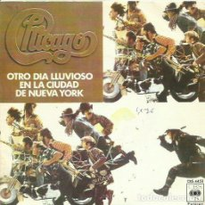 Discos de vinilo: CHICAGO. SINGLE. SELLO CBS. EDITADO EN ESPAÑA. AÑO 1976. Lote 61892112