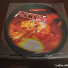 Discos de vinilo: ACCEPT - SINGLE - PICTURE DISC - THE ABYSS - BLOOD OF THE NATIONS - TEUTONIC TERROR. Lote 61903268