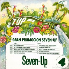 Discos de vinilo: GRAN PROMOCION SEVEN UP- THE EXCITERS / LITTLE RICHARD- TELL HIM + GOOD GOLLY MISS MOLLY SINGLE. Lote 61908400