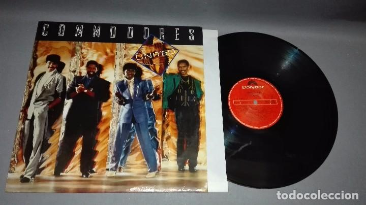 918- COMMODORES-UNITED LP DISCO VINILO - PORTADA VG ++ / DISCO VG ++ (Música - Discos - LP Vinilo - Otros estilos)