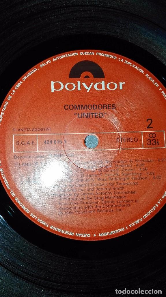 Discos de vinilo: 918- COMMODORES-UNITED LP DISCO VINILO - PORTADA VG ++ / DISCO VG ++ - Foto 2 - 61911180
