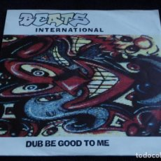 Disques de vinyle: BEATS INTERNATIONAL ( DUB BE GOOD TO ME - INVASION OF THE ESTATE AGENTS ) 1990-GERMANY SINGLE45. Lote 61922900