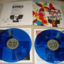 Discos de vinilo: THE KINKS FACE TO FACE - DOUBLE BLUE WAX. Lote 61939516