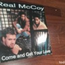 Discos de vinilo: REAL MCCOY-COME AND GET YOUR LOVE.MAXI. Lote 61942512
