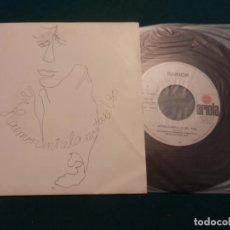 Discos de vinilo: RAIMON - ENTRE LA NOTA I EL SO + HAN PASSAT VINT ANYS - SINGLE 2 TEMAS EN CATALÀ - ARIOLA 1984. Lote 61950468