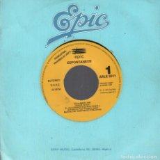 Discos de vinilo: ESPONTANEOS - YO LA MATO SINGLE PROMOCIONAL EPIC DE 1991 RF-1386 , BUEN ESTADO. Lote 61951988
