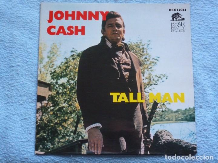 JOHNNY CASH,TALL MAN EDICION HOLLAND DEL 79 (Música - Discos - LP Vinilo - Country y Folk)