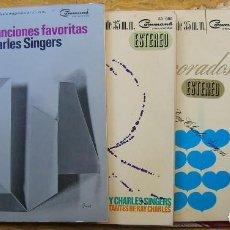Discos de vinilo: THE RAY CHARLES SINGERS: 4 LP COMMAND (HISPAVOX) VER DATOS Y FOTOS. Lote 61954304