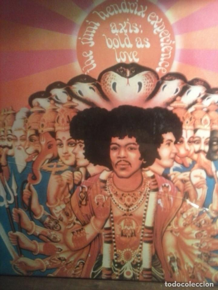 THE JIMI HENDRIX EXPERIENCE - AXIS BOLD AS LOVE - 1980 . (Música - Discos de Vinilo - Maxi Singles - Pop - Rock Extranjero de los 50 y 60)