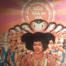 Discos de vinilo: THE JIMI HENDRIX EXPERIENCE - AXIS BOLD AS LOVE - 1980 .. Lote 61954320