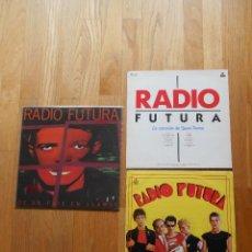 Discos de vinilo: LOTE 3 LPS RADIO FUTURA, VER FOTOS. Lote 61964844
