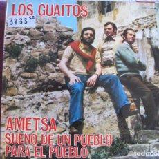 Discos de vinilo: LP - LOS GUAITOS - AMETSA, SUEÑO DE UN PUEBLO PARA EL PUEBLO (SPAIN, COLUMBIA 1976). Lote 61991496