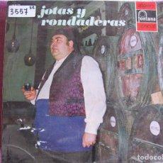 Discos de vinilo: LP - REGIONAL/FOLKLORE - JOTAS Y RONDADERAS - MARIANO FORNS CON RONDALLA ALMA DE ARAGON. Lote 61992864