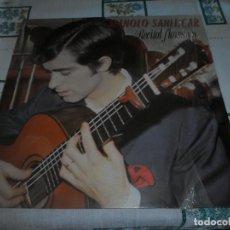 Discos de vinilo: MANOLO SANLUCAR RECITAL FLAMENCO. Lote 62006380