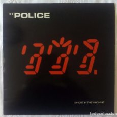 Discos de vinilo: POLICE, THE - GHOST IN THE MACHINE (CBS) LP PROMOCIONAL ESPAÑA - ENCARTE. Lote 62006488