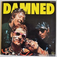 Dischi in vinile: THE DAMNED RARE ORIG 1ST LP SPANISH MINT 1978 STIFF RECORDS - RED & WHITE LABEL ¡¡¡SIN USAR!!!. Lote 62017148