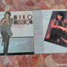 Discos de vinilo: MIKO MISSION LOTE 2 SINGLES . Lote 62017816