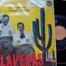 Discos de vinilo: TRIO CALAVERAS- LA MALAGUEÑA. FALLASTE CORAZÓN (RCA 1959). Lote 62020080