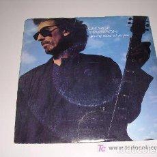 Discos de vinilo: SINGLE 45 RPM / GEORGE HARRISON ( THE BEATLES ) GOT MY MIND SET ON YOU. Lote 62021356