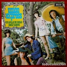 Discos de vinilo: UNION EXPRESS (SINGLE 1971) UN ANILLO DE ROSAS. Lote 62026232