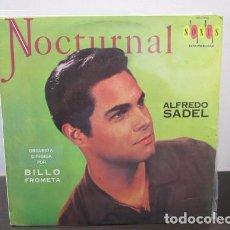 Discos de vinilo: NOCTURNAL ALFREDO SADEL NOCHE DE LUNA AQUELLOS OJOS VERDES MI MARIPOSA TABOGA Y+ VINILO LP T27 VG. Lote 62029468