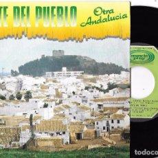 Discos de vinilo: GENTE DEL PUEBLO: OTRA ANDALUCÍA / VINIERON LOS MOROS. Lote 62036388