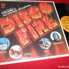 Discos de vinilo: DISCO FIRE EMOTIONS+BONEY M+PETER BROWN+BIONIC BOOGIE+BRICK+TRAMMPS++1978 K-TEL EDICION USA. Lote 262545435