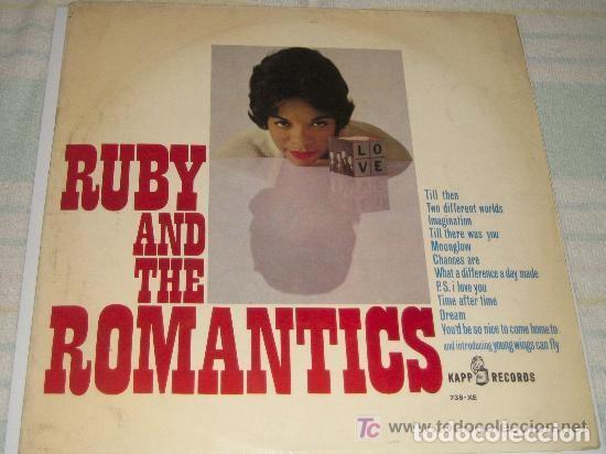 RUBY AND THE ROMANTICS, TILL THEN, SU LP ESPAÑOL ORIGINAL (Música - Discos - LP Vinilo - Pop - Rock Extranjero de los 50 y 60)
