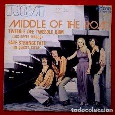 Discos de vinilo: MIDDLE OF THE ROAD (SINGLE RCA 1971) LOS REYES MAGOS - TWEEDLE DEE TWEEDLE DUM. Lote 62055400