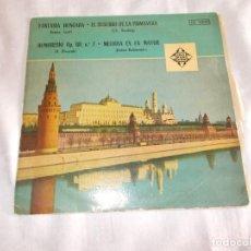 Discos de vinilo: LISZT -SINDING- DVORAK- RUBINSTEIN VINILO DE 10 PULGADAS . Lote 62055584