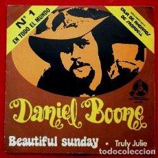 Discos de vinilo: DANIEL BOONE (SINGLE PENNY 1972) (NUEVO) BEAUTIFUL SUNDAY - TRULY JULIE. Lote 62057240