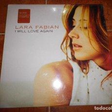 Discos de vinilo: LARA FABIAN I WILL LOVE AGAIN REMIXES MAXI SINGLE VINILO USA PRECINTADO 12 PULGADAS MUY RARO DISCO. Lote 62059160