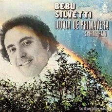 Discos de vinilo: BEBU SILVETTI – LLUVIA DE PRIMAVERA - LP. Lote 62066756