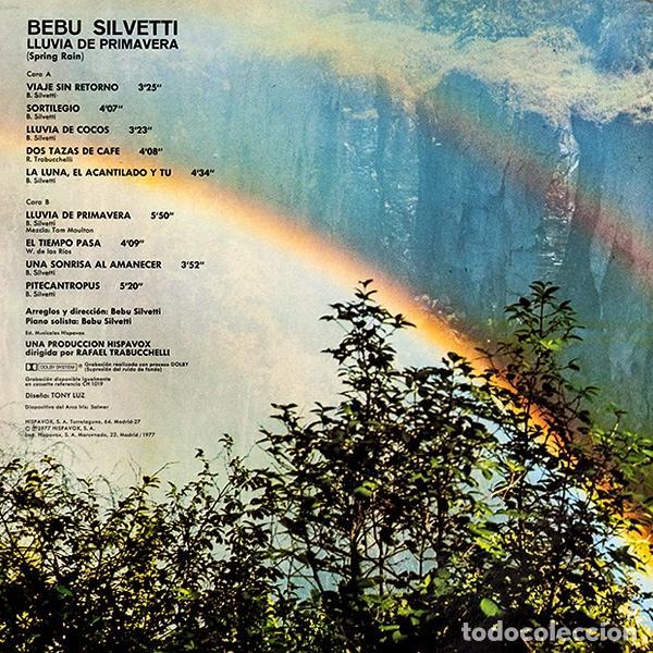 Discos de vinilo: Bebu Silvetti – Lluvia De Primavera - LP - Foto 2 - 62066756