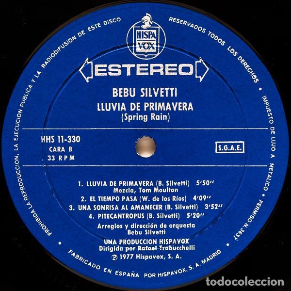 Discos de vinilo: Bebu Silvetti – Lluvia De Primavera - LP - Foto 6 - 62066756