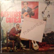 Discos de vinilo: JOSEP MARIA ESPINAS CANTA BRASSENS EDIGSA 1962 EL VENT/L'OCA D'EN ROCA/MARINETA +2 SETZE JUTGES. Lote 62067792