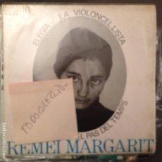 Discos de vinilo: REMEI MARGARIT - CANTA LES SEVES CANÇÓNS – ELEGIA + 3 EDIGSA/EDIPHONE 1964 SETZE JUTGES. Lote 62068728