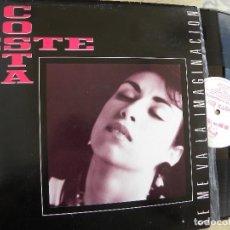Discos de vinilo: COSTA ESTE -SE ME VA LA IMAGINACION -LP 1988 -BUEN ESTADO. Lote 62074812