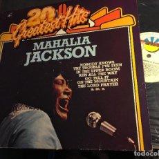 Discos de vinilo: NAHALIA JACKSON (20 GREATEST HITS) LP GERMANY (VIN-I). Lote 62083748