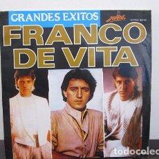 Discos de vinilo: FRANCO DE VITA GRANDES EXITOS VINILO LP T28.. Lote 62084980
