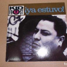 Discos de vinilo: KID FROST (SN) YA ESTUVO (THAT'S IT) AÑO 1990. Lote 110908946