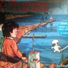 Discos de vinilo: ANTIGUO LP CUENTO MARCO DE LOS APENINOS A LOS ALPES. Lote 62087504