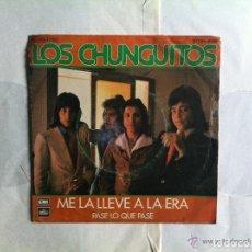 Discos de vinilo: ANTIGUO EP - LOS CHUNGUITOS - ME LA LLEVE A LA ERA - PASE LO QUE PASE. Lote 62088124