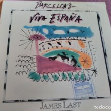 Discos de vinilo: JAMES LAST AND HIS ORCHESTRA - BARCELONA - SINGLE PROMOCIONAL ESPAÑOL DE 1992. Lote 62094176