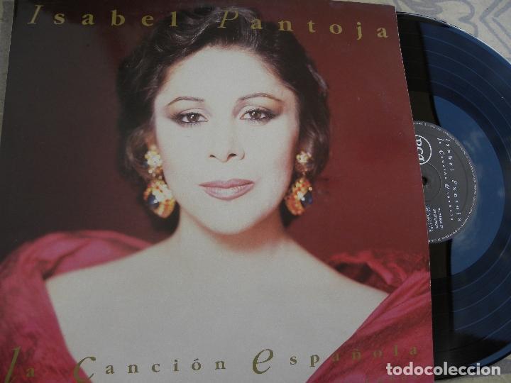 ISABEL PANTOJA -LA CANCION ESPAÑOLA -DOBLE LP 1990 (Música - Discos - LP Vinilo - Flamenco, Canción española y Cuplé)