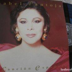 Discos de vinilo: ISABEL PANTOJA -LA CANCION ESPAÑOLA -DOBLE LP 1990. Lote 62107100