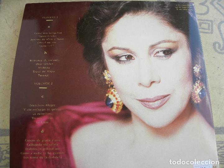 Discos de vinilo: ISABEL PANTOJA -LA CANCION ESPAÑOLA -DOBLE LP 1990 - Foto 2 - 62107100